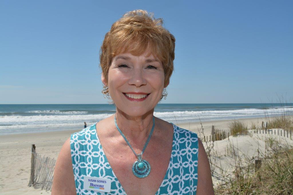 Susan Goines- Broker/REALTOR with Bluewater Real Estate in Emerald Isle, NC