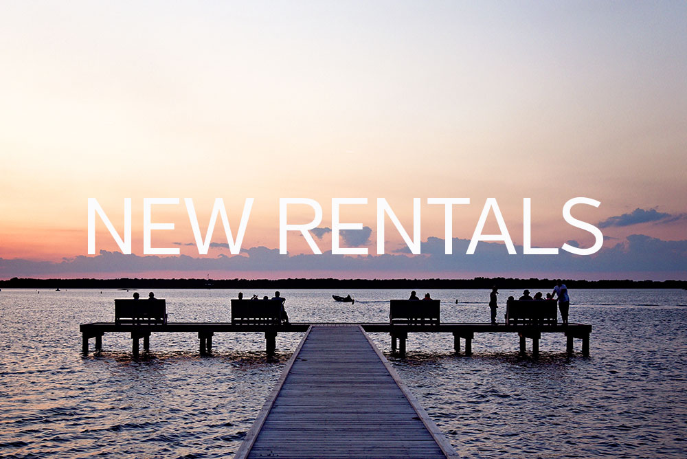 new vacation rentals crystal coast emerald isle
