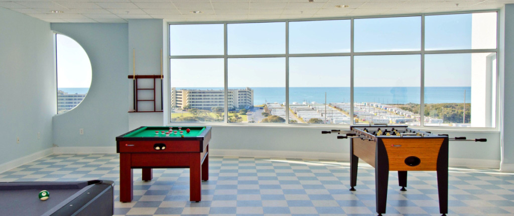 Game Room at The Nautical Club- Indian Beach, NC