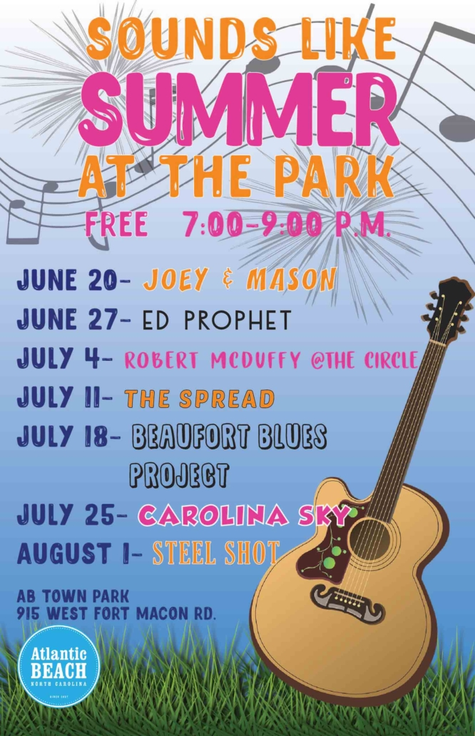 Atlantic Beach, NC Summer Concert Series