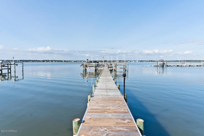 Sunset Harbor Dock & Boat Lifts- Soundfront Condo For Sale in Emerald Isle, NC