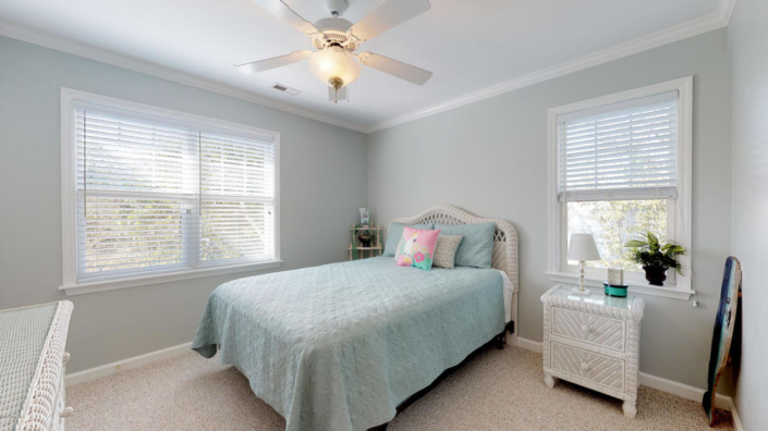 Bedroom #2 in 120 Sea Dunes Drive- Emerald Isle Home for Sale