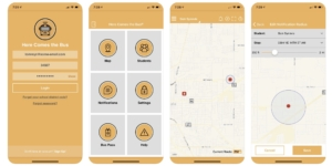 here comes the bus app
