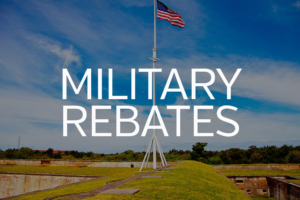 Military On The Move- Rebate Program for Active Duty & Retired Military Home Buyers